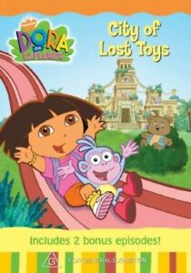 City of lost toys DVD Dora the Explorer G rated kids show