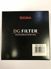 NEW - Sigma Filter 86mm DG UV Ultra-Low Reflection Multi-Coating Filter
