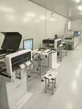 A continuous SMT line: NeoDen4 with vision+Reflow oven+Solder printer+Conveyor-L
