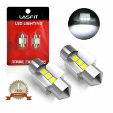 2x Lasfit LED Festoon Dome/Map/Trunk Light Bulb 28MM 641 6614 6000K Bright White