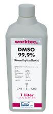DMSO 99,9%, 1 bis 3 Liter, Dimethylsulfoxid in 1000 ml HDPE Flasche reinst