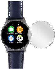 5x Schutzfolie für Uhr 44.5 mm Durchmesser Display Folie klar Displayschutzfolie