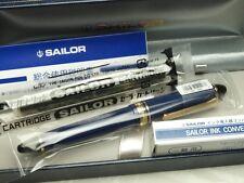 Sailor Profit Color 1019 / Blue 14K Medium-nib with converter 11-1201-440