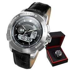 Nuclear Gamma Radiation Detector Watch Gamma Master II Geiger-Muller PM1208 New