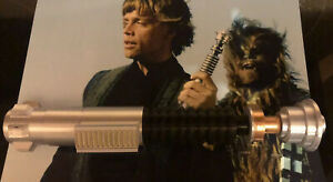 1:1 Scale - 3D Printed Luke Skywalker ROTJ Lightsaber Hilt Cosplay Prop