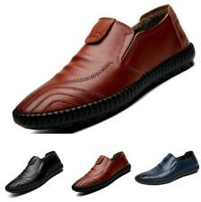 Mens Leisure Faux Leather Shoes Driving Moccasins Pumps Slip on Loafers Casual B