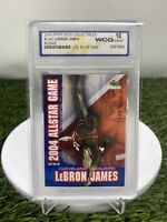 2004 Upper Deck  Lebron James All-Star Game #3899/5000 WCG 10 Free Ship Invest🔥