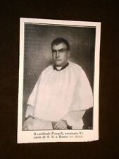 Basilio Pompili o Pompilj nel 1913 Cardinale