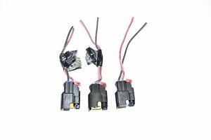 04-12 Jeep Liberty Fuel Injectors Connectors Plug 3.7L 05 06 07 08 09 10 11