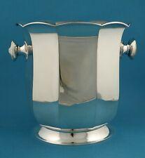 Sektkühler / Flaschenkühler, 800er Silber