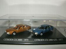 CITROEN CX 2000 et 2400 GTI de 1975 et 1977 Duo Atlas Boite au 1/87 / 1/86 HO
