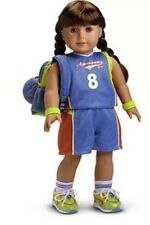 American Girl BASKETBALL OUTFIT backpack jersey shorts shoes sports ball NO DOLL