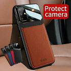Leather Slim Case Cover For Samsung Galaxy S21 S20 FE S21 Plus 5G Note 20 Ultra