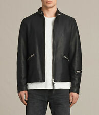 ALL SAINTS Cruz Black Leather Jacket EXTRA SMALL Size XS mishima boyson kane
