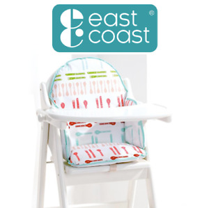 East Coast Nursery Baby & Kids Wipe Clean Soft Foam Highchair Insert Dinner Time