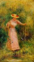 "stunning art oil painting handpainted on canvas ""swing"""