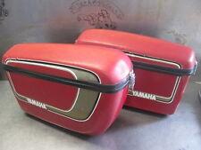 Yamaha XS650 TX650 XS1 XS2 Saddle Bags Hard Bag Saddlebag Rare