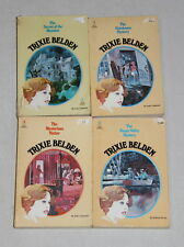 Set of 4 vintage Trixie Beldon books by Julie Campbell - 1, 3, 4 & 9