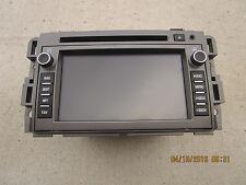 09 SATURN VUE XR 3.6L V6 SFI 4D SUV GPS NAVIGATION UNIT CD PLAYER P/N 20793152