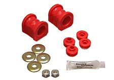 Energy Suspension Sway Bar Bushing Set Red Front for Nissan Sentra / NX  7.5115R