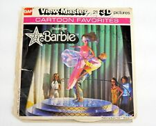 View-Master BARBIE CARTOON #J70 - 2 reels & BOOKLET - DT