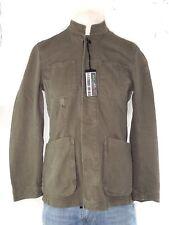 sisley giacca uomo verde cotone taglia it 46 s small