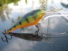 "Rapala Deep Runner Green Over Orange 3.75"" Salt / Fresh Water Fishing Lure"