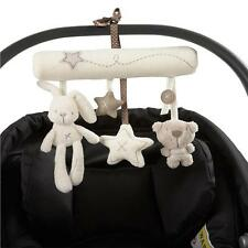 Bed Bell Developmental Toy Baby Newborn Plush Toys Animal Handbells Rattle Toy G