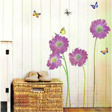 DIY Removable Flower Butterfly Art Wall Decal Sticker Paster Mural Home Decor CA