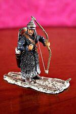 Del Prado, Lithuanian Warrior on Skis, 13th Century