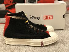*DEADSTOCK* Disney Kith Converse Shoes Limited Edition Mickey Mouse Yellow Laces