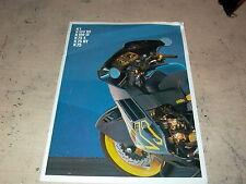 1990 BMW Motorcycles Information Sales Brochure K1 K100RS K100LT K75S K75RT K75