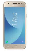 Samsung Galaxy J3 debloqué (2017) SM-J330F - 16 GB - Or livraison gratuite !!