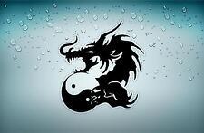 sticker adesivo adesivi tuning dragone tribale auto tribal jdm ying yang r2