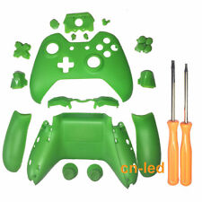 Xbox One Replacement Wireless Controller Matte Green Case Shell for 3.5mm Port