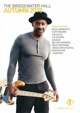 Bridgewater Hall UK 2015 Gig guide book Marcus Miller  Cliff Richard  Squeeze