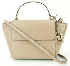 57f366636a5b Ralph Lauren Barclay Tote Shoulder Bag Crossbody Handbag Beige