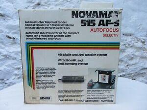 Vintage Braun Novamat 515 AF-S 35mm slide projector with autofocus.