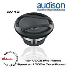 """Audison AV 12 - 12"""" Single 4Ohm Coil Subwoofer 1000W Open Air Design Subwoofer"""