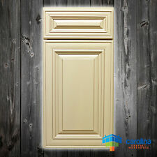 Solid Wood RTA Cabinet Sample Door, Wood Kitchen Cabinets, Color: Antique White