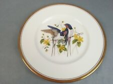 Boehm Decorative Plate Swallow Bird Design Limited Edition Bone Porcelain w/ box