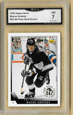 1993 Upper Deck #99 Wayne Gretzky All Time Goal Scorer GRADED GMA 7 NM