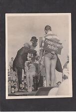 WWII- Original Photo of a Naval Initiative Ceremony C1945