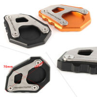 Black Kickstand Side Stand Pad Extension For KTM 1050 1090 1190 1290 Adventure/R