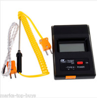 TM-902C Digital LCD K Type Thermometer Temperature Meter with Probe