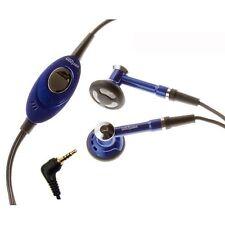OEM 2.5mm HEADSET HEADPHONES BLUE EARBUDS EARPHONES HANDSFREE for VERIZON PHONES