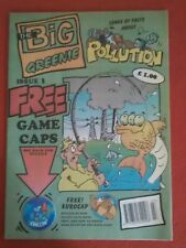 Scarce Environmental Comic The Big Greenie'1st Issue + Gift 1995 UK New Climate