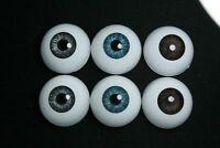 Bjd doll acrylic eyes 18 mm Black for reborn dollfie msd yosd minifee crafts