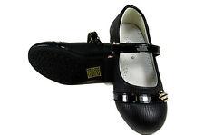 Sandalias Boda Primeros Zapatos de Comunión Festivo Calzado Negro A. 522 Nuevo
