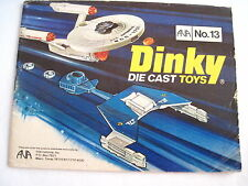 "Fantastic 1977 ""Dinky"" Die Cast Toys Catalog - w Spaceships, Airplanes Cars *"